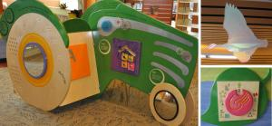 early literacy installation photos