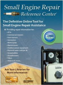 Small Engine Repair Reference Center graphic