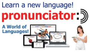 Learn a new language at your library with Pronunciator
